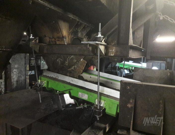 Podajnik wibracyjny elektromagnetyczny do podawania węgla kopalnia pokój