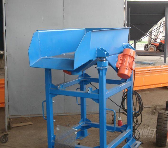 Podajniki wibracyjne odsiewające, INWET producent maszyn wibracyjnych