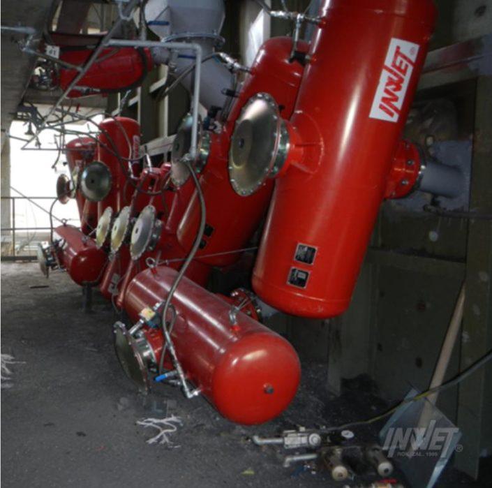 Pulsatory pneumatyczne cementownia