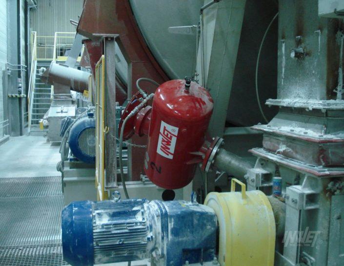 Pulsatory pneumatyczne w ciągach technologicznych