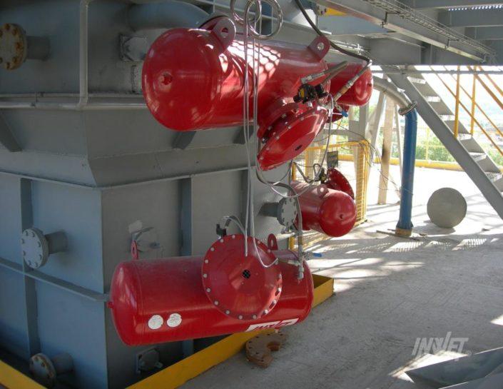 Pulsatory pneumatyczne, armatki powietrzne
