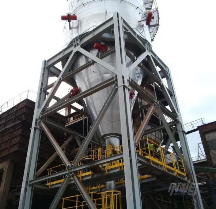 Pulsatory pneumatyczne zbiornik ZGH