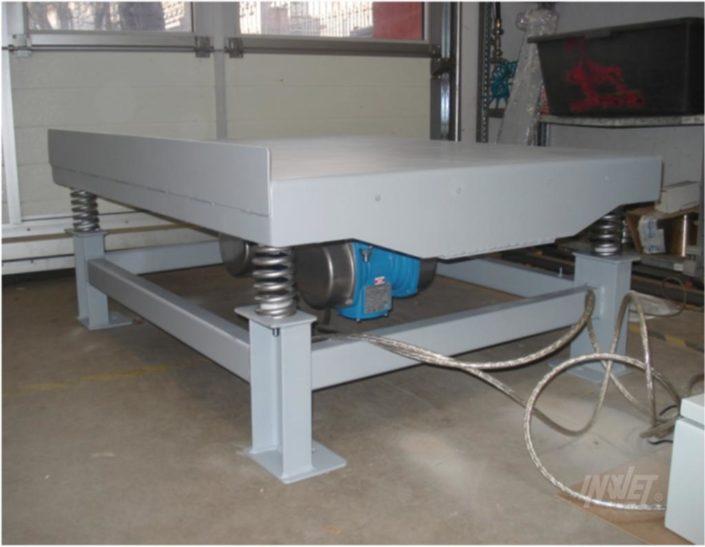 Stoły wibracyjne do betonu, producent maszyn wibracyjnych INWET