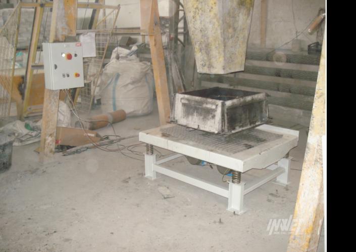 Stół wibracyjny do betonu
